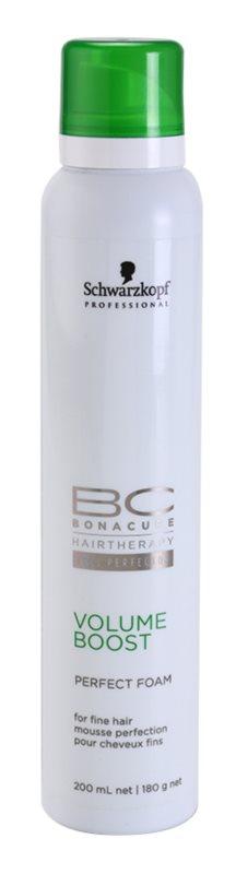 Schwarzkopf Professional BC Bonacure Volume Boost Perfektionierender Schaum für feines Haar