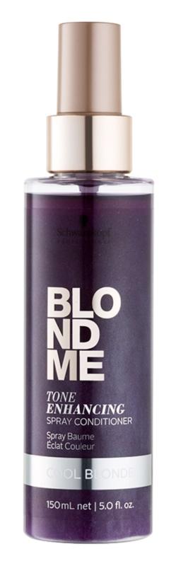 Schwarzkopf Professional Blondme condicionador sem enxaguar para tons de loiro mais frios