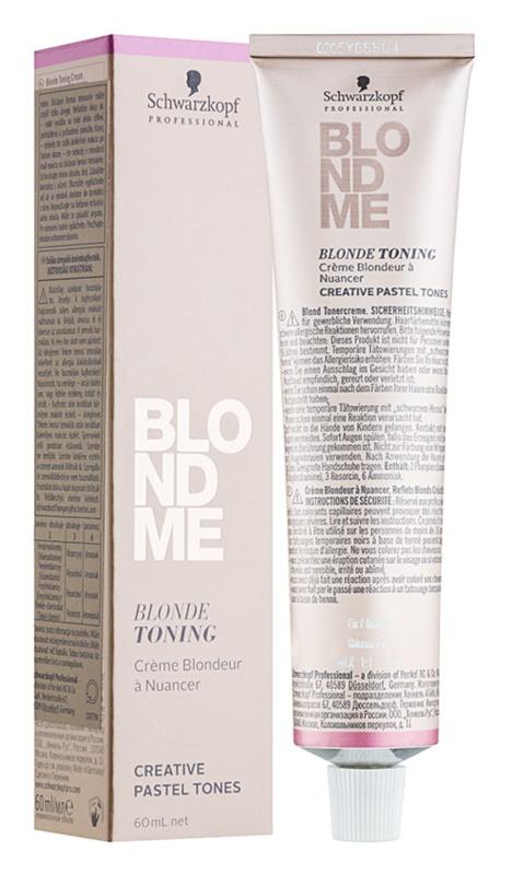 Schwarzkopf Professional Blondme crema tonifianta pentru par blond