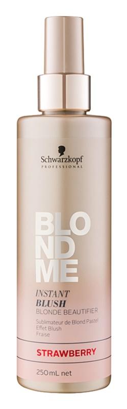 Schwarzkopf Professional Blondme tonirano pršilo za blond lase