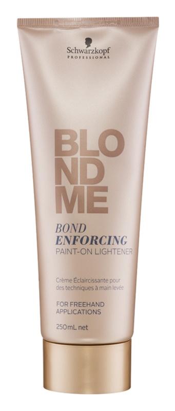 Schwarzkopf Professional Blondme zesvětlující krém bez amoniaku pro blond vlasy