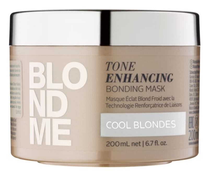 Schwarzkopf Professional Blondme máscara capilar nutritiva para tons loiros frios de cabelo