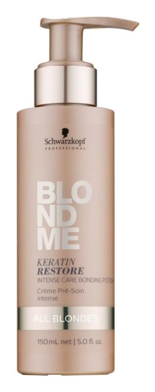 Schwarzkopf Professional Blondme tratamento intensivo para todos os tipos de cabelo loiro