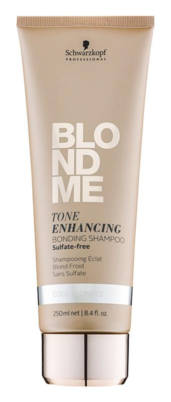 Schwarzkopf Professional Blondme bezsulfátový šampón pre studené odtiene blond
