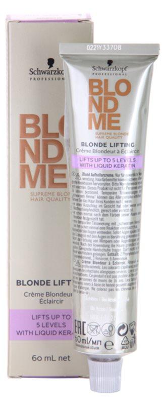 Schwarzkopf Professional Blondme Color barva na vlasy