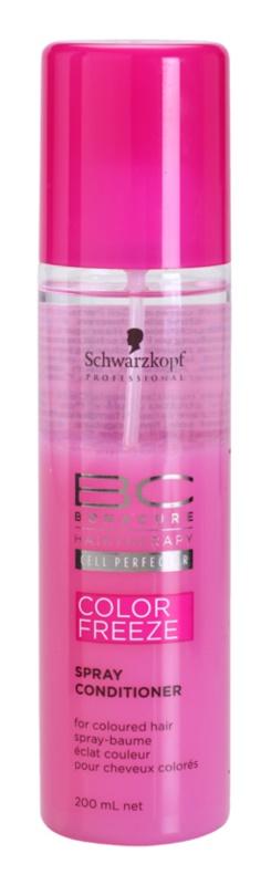 Schwarzkopf Professional PH 4,5 BC Bonacure Color Freeze Spray Conditioner  voor Bescherming van de Kleur