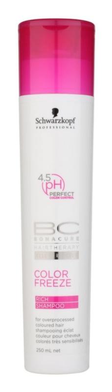Schwarzkopf Professional PH 4,5 BC Bonacure Color Freeze šampon pro ochranu barvy