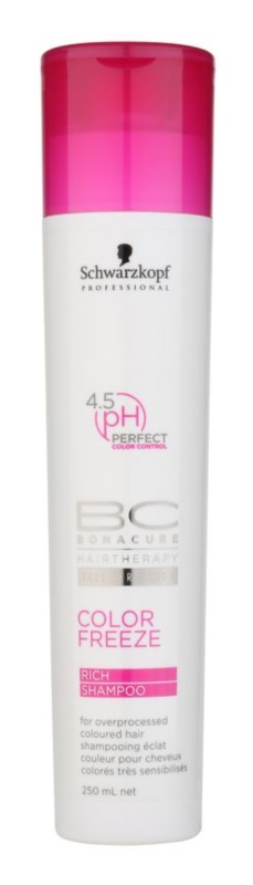 Schwarzkopf Professional PH 4,5 BC Bonacure Color Freeze shampoing protection de couleur