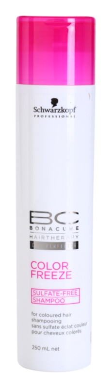 Schwarzkopf Professional PH 4,5 BC Bonacure Color Freeze Sulfate - Free Shampoo For Colored Hair
