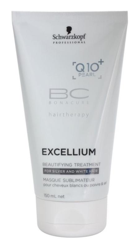 Schwarzkopf Professional BC Bonacure Excellium Beautifying cuidados de beleza para o cabelo cinzento e branco