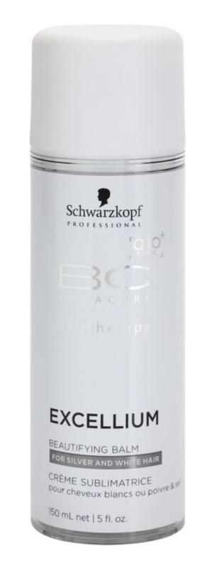 Schwarzkopf Professional BC Bonacure Excellium Beautifying balsam nadający odcień włosóm siwym i białym
