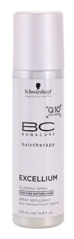 Schwarzkopf Professional BC Bonacure Excellium Plumping bezoplachový kondicionér v spreji pre jemné zrelé vlasy
