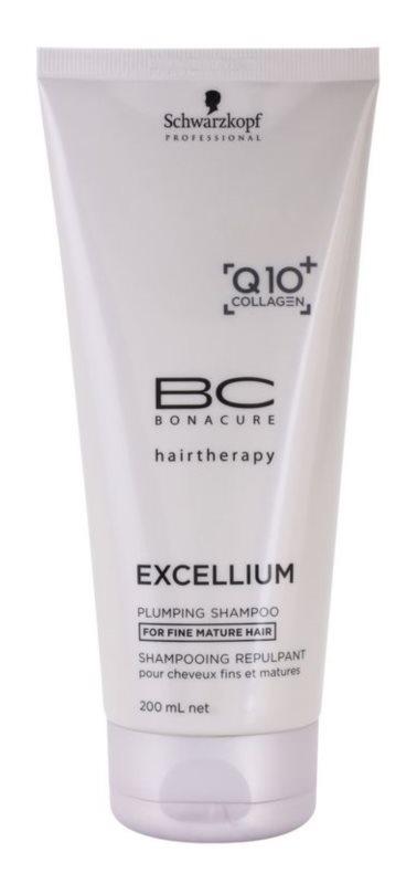 Schwarzkopf Professional BC Bonacure Excellium Plumping šampón pre jemné zrelé vlasy