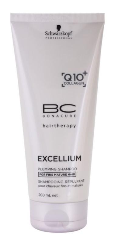 Schwarzkopf Professional BC Bonacure Excellium Plumping šampon za tanke zrele lase