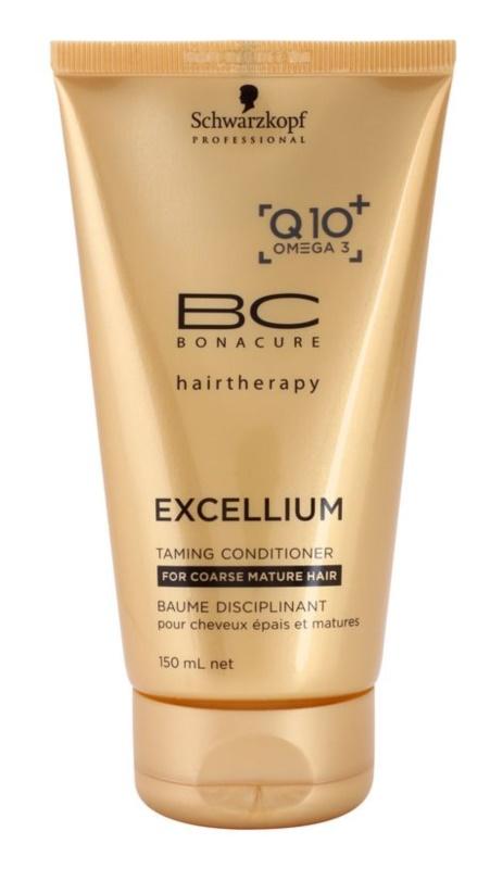 Schwarzkopf Professional BC Bonacure Excellium Taming kondicionér pre hrubé zrelé vlasy