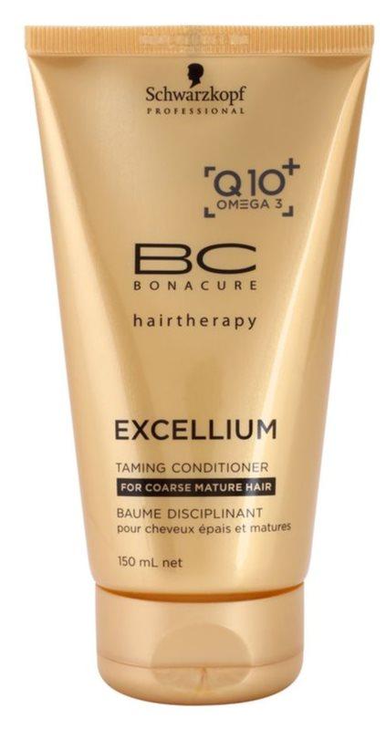 Schwarzkopf Professional BC Bonacure Excellium Taming kondicionér pro hrubé zralé vlasy