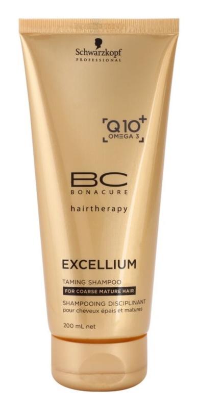 Schwarzkopf Professional BC Bonacure Excellium Taming champô para cabelos maduros e grossos