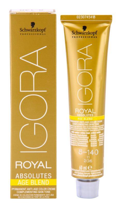 Schwarzkopf Professional IGORA Royal Absolutes Age Blend Hair Color