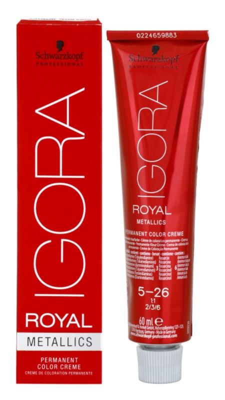 Schwarzkopf Professional IGORA Royal Mettalics barva za lase