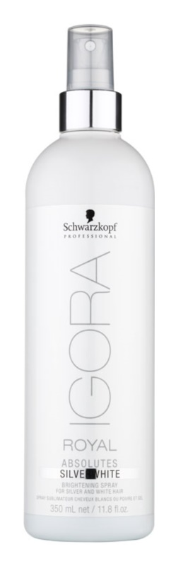 Schwarzkopf Professional IGORA Royal Absolutes SilverWhite rozjasňující sprej pro zvýraznění barevného odstínu