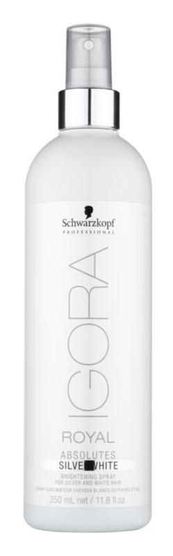 Schwarzkopf Professional IGORA Royal Absolutes SilverWhite spray rozświetlający odcień włosów