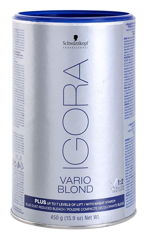 Schwarzkopf Professional IGORA Vario Blond élénkítő púder