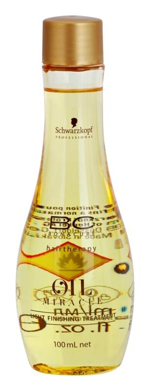Schwarzkopf Professional BC Bonacure Oil Miracle Marula Oil сироватка для волосся для тонкого та ослабленого волосся