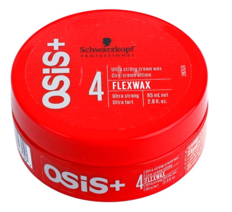 Schwarzkopf Professional Osis+ FlexWax cera cremosa  fixação ultraforte
