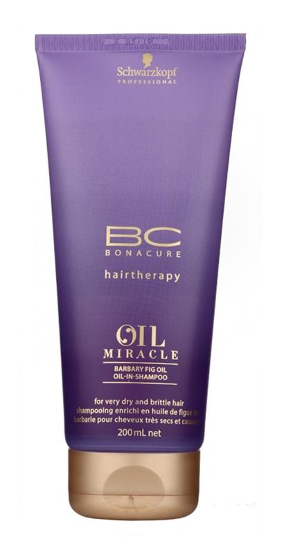 Schwarzkopf Professional BC Bonacure Oil Miracle Barbary Fig Oil відновлюючий шампунь для дуже сухого та пошкодженого волосся