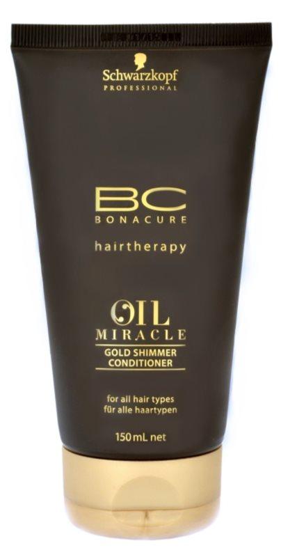 Schwarzkopf Professional BC Bonacure Oil Miracle Argan Oil acondicionador para todo tipo de cabello