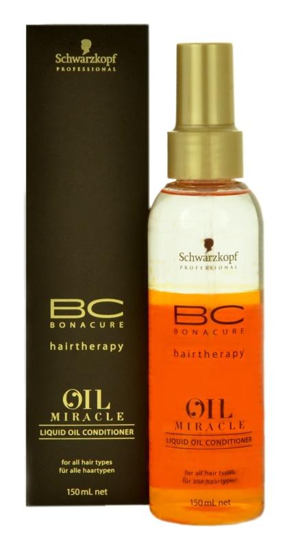 Schwarzkopf Professional BC Bonacure Oil Miracle Argan Oil kondicionér v spreji pre všetky typy vlasov