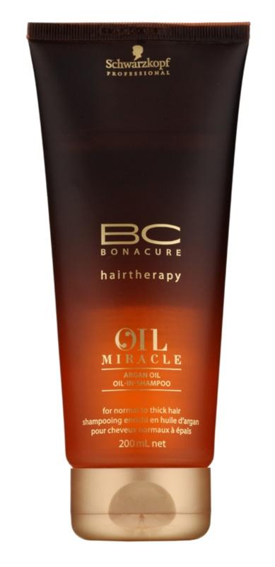 Schwarzkopf Professional BC Bonacure Oil Miracle Argan Oil sampon normál és dús hajra