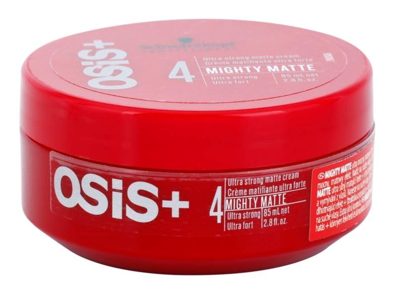 Schwarzkopf Professional Osis+ Mighty Matte crème matifiante fixation ultra forte