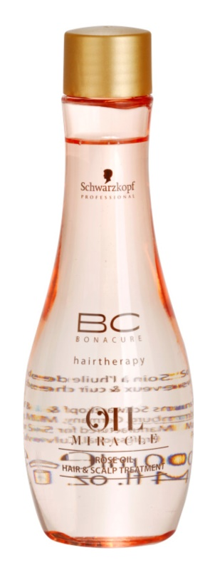 Schwarzkopf Professional BC Bonacure Oil Miracle Rose Oil Oil Serum For Stressed Hair And Scalp