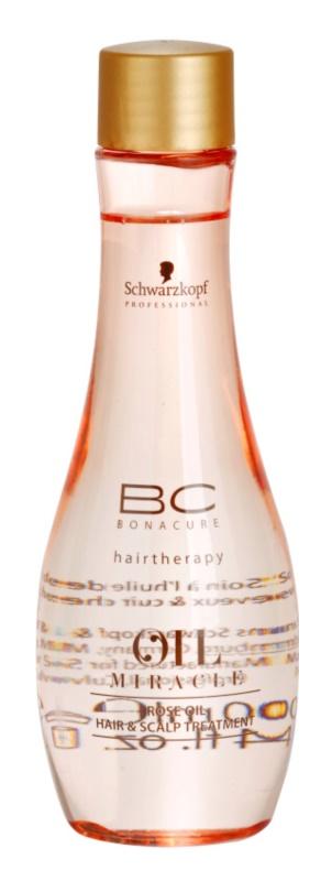 Schwarzkopf Professional BC Bonacure Oil Miracle Rose Oil olejové sérum pro namáhané vlasy a vlasovou pokožku