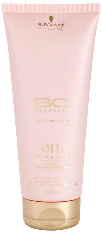 Schwarzkopf Professional BC Bonacure Oil Miracle Rose Oil olaj sampon a károsult hajra és fejbőrre