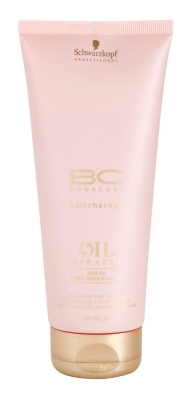 Schwarzkopf Professional BC Bonacure Oil Miracle Rose Oil szampon z olejkami szampon do zmęczonych włosów i skóry głowy