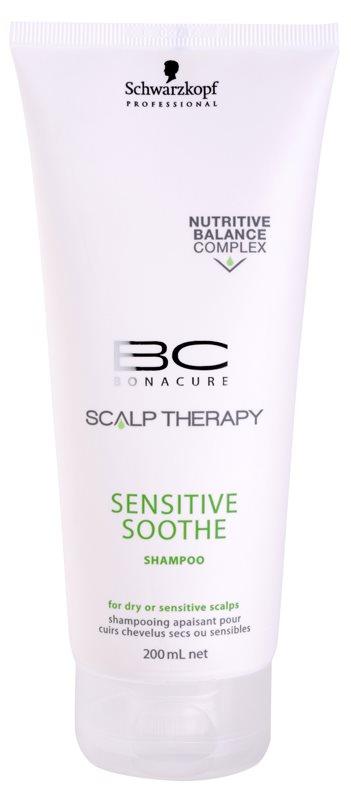 Schwarzkopf Professional BC Bonacure Scalp Therapy sampon a száraz és érzékeny fejbőrre
