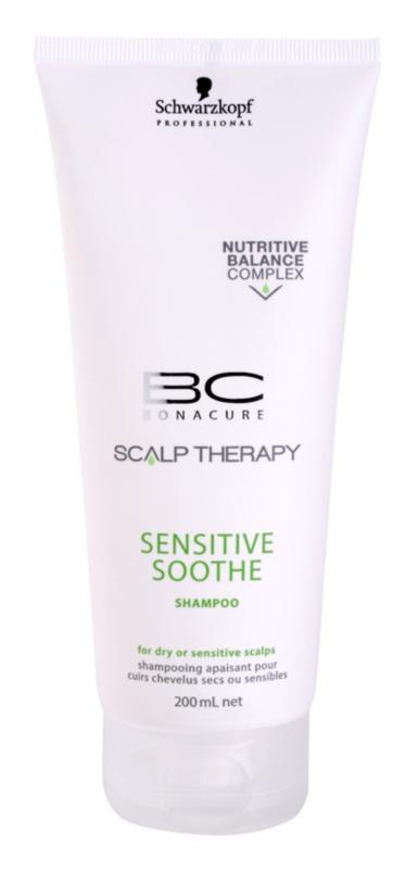 Schwarzkopf Professional BC Bonacure Scalp Therapy szampon do suchej i wrażliwej skóry głowy