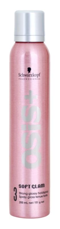 Schwarzkopf Professional Osis+ Soft Glam laque cheveux pour donner du volume et de la brillance