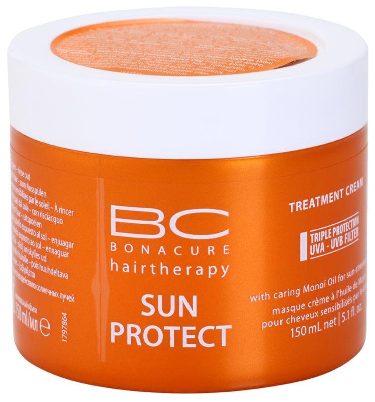 Schwarzkopf Professional BC Bonacure Sun Protect máscara nutritiva para cabelo danificado pelo sol