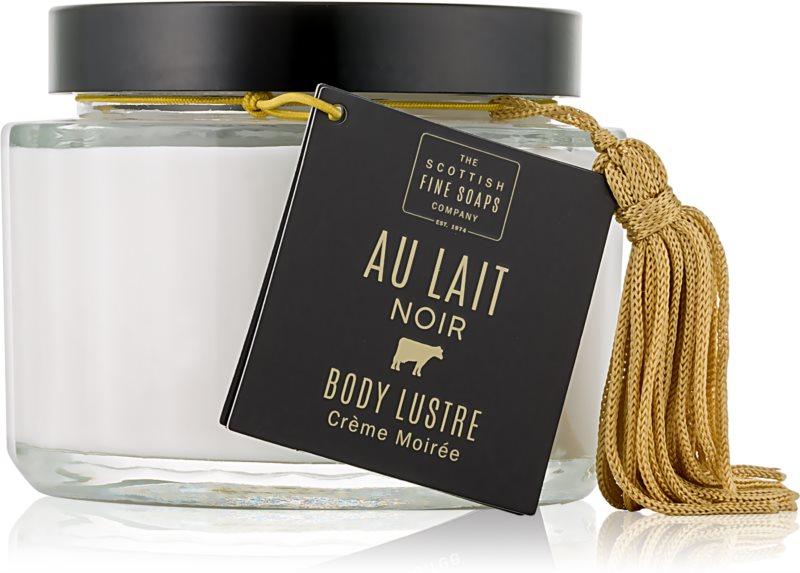 Scottish Fine Soaps Au Lait Noir rozjasňující a hydratační krém na tělo