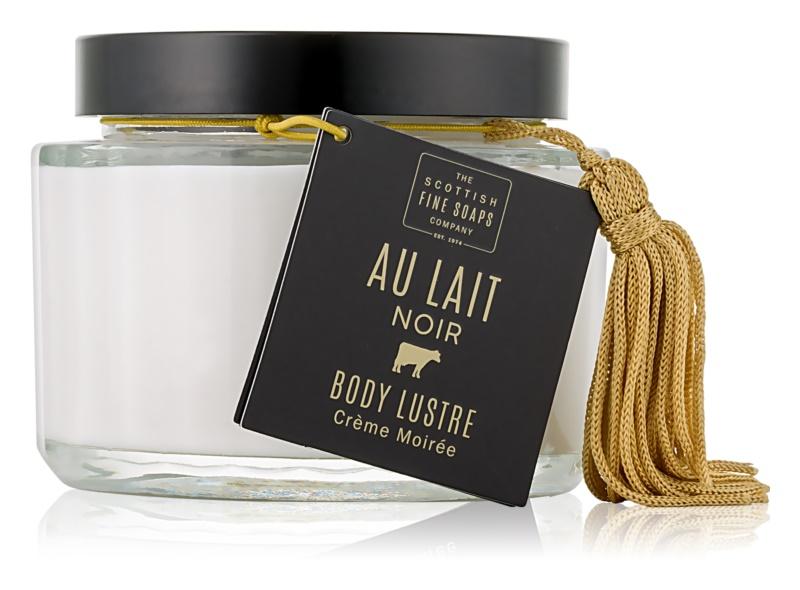 Scottish Fine Soaps Au Lait Noir rozjasňujúci a hydratačný krém na telo