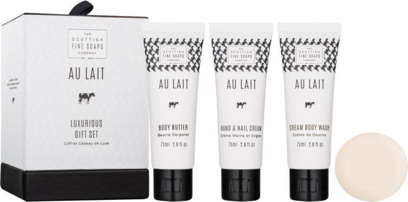 Scottish Fine Soaps Au Lait Cosmetic Set II.
