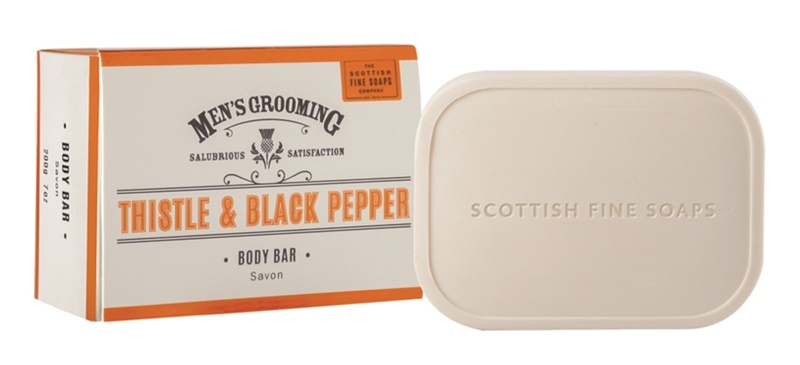 Scottish Fine Soaps Men's Grooming Thistle & Black Pepper milo za moške