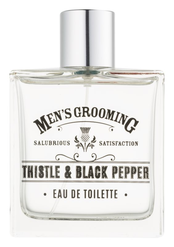 Scottish Fine Soaps Men's Grooming Thistle & Black Pepper Eau de Toilette for Men 100 ml