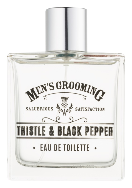 Scottish Fine Soaps Men's Grooming Thistle & Black Pepper eau de toilette pentru barbati 100 ml