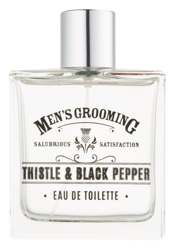 Scottish Fine Soaps Men's Grooming Thistle & Black Pepper toaletná voda pre mužov 100 ml