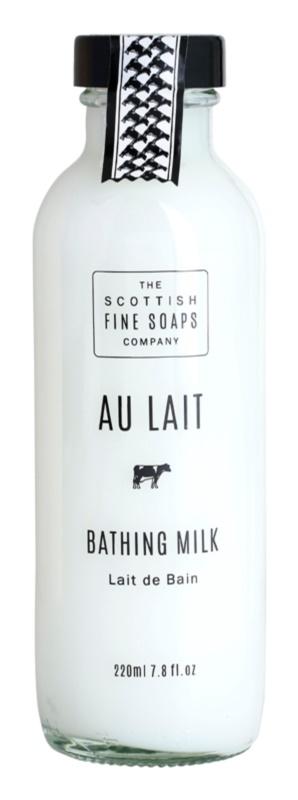 Scottish Fine Soaps Au Lait молочко для ванни