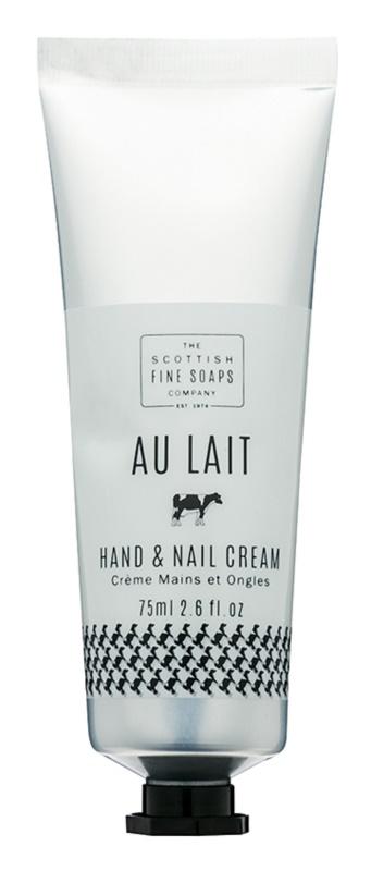 Scottish Fine Soaps Au Lait крем для рук та нігтів